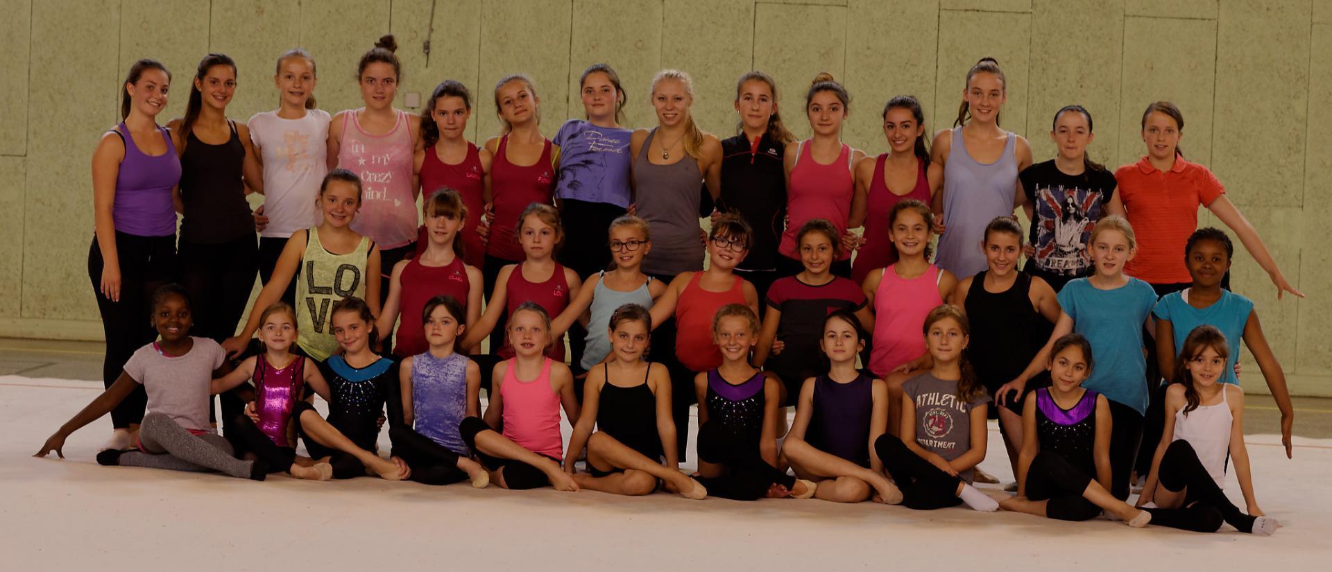 Immense surprise pour nos gymnastes, la présence  de Kseniya MOUSTAFAEVA