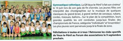 Les gymnastes de la saison 2011 / 2012